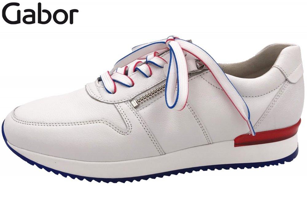 Gabor Damen Sneaker Weiß