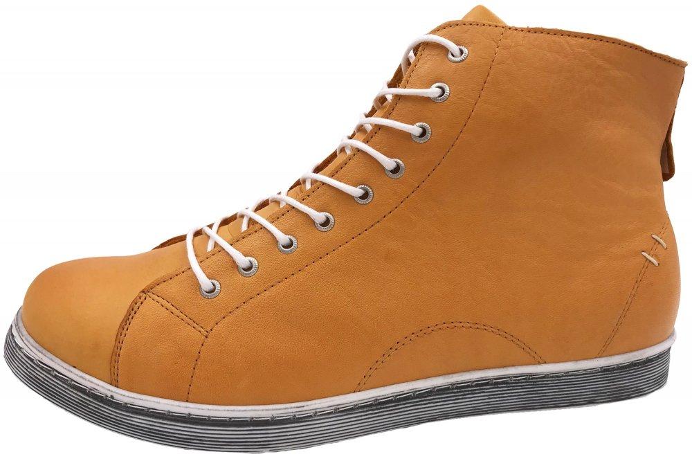 Andrea Conti High Top Sneaker Ocker