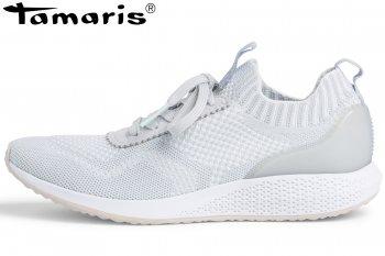Tamaris Damen Fashletics Sneaker Hellgrau