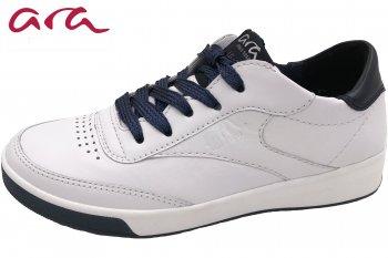 ara Damen Sneaker Weiß/Blau