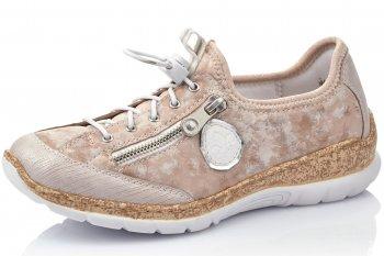 Rieker Damen Sneaker Rosa