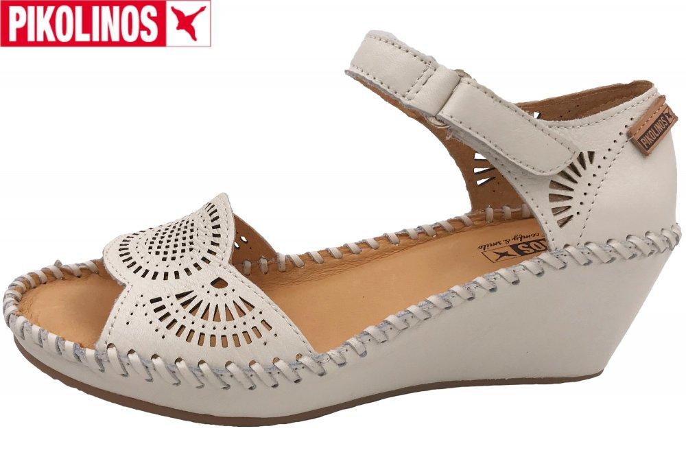 Pikolinos Damen Sandalette Weiß