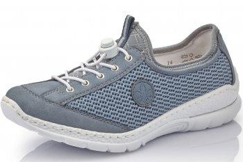 Rieker Damen Sneaker Jeansblau