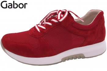 Gabor Rollingsoft Damen Sneaker Rot