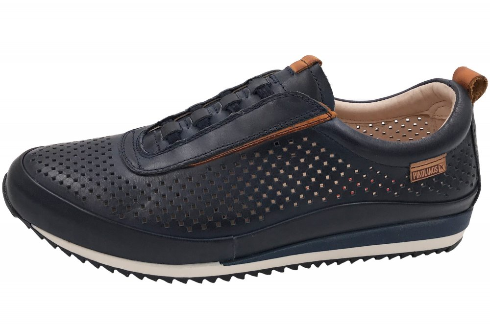 Pikolinos Herren Sneaker Blau