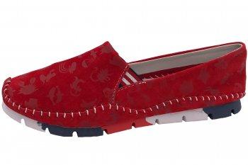 Cosmos Damen Slipper Rot