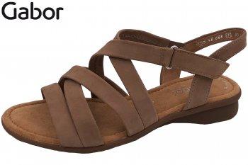 Gabor Damen Sandalette Beige