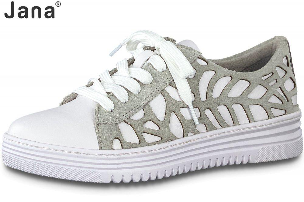 Jana Damen Sneaker Weiß