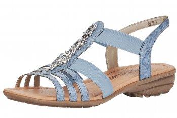 Remonte Damen Sandale Blau