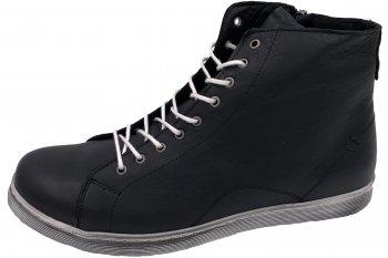 Andrea Conti High Top Sneaker Schwarz