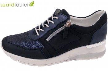 Waldläufer Damen Sneaker Blau