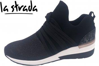 La Strada Damen Sneaker Schwarz