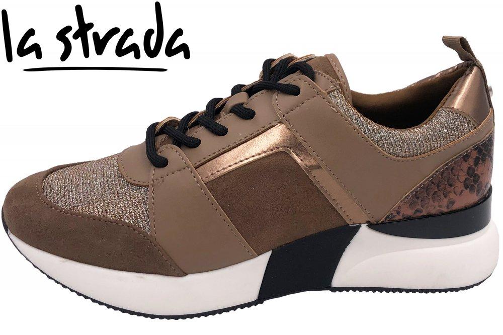 La Strada Damen Sneaker Beige