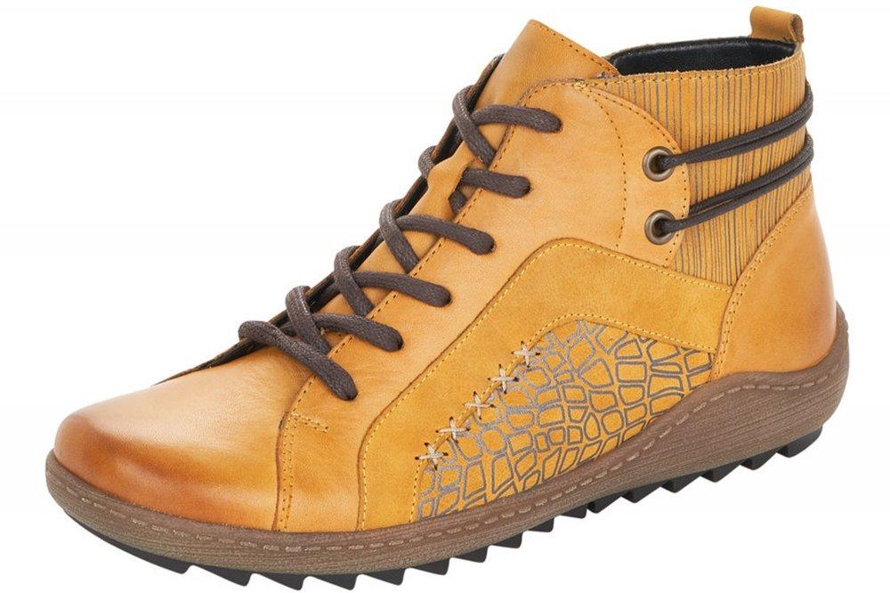 Remonte Damen Sneaker High Gelb