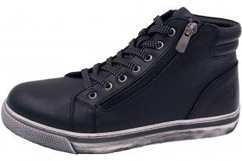 Cosmos Damen Sneaker High Schwarz