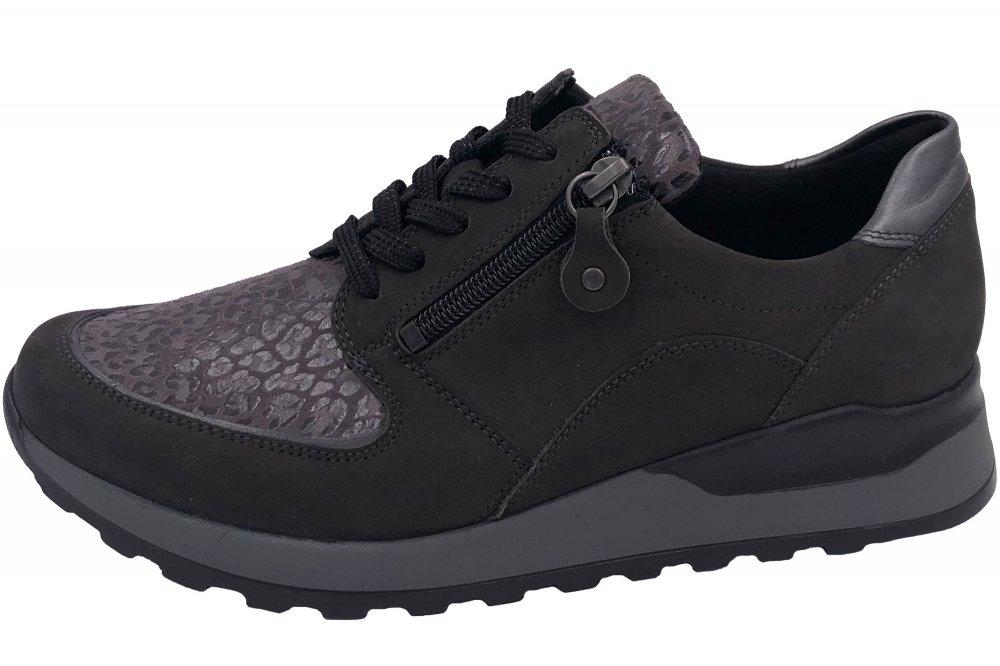 Waldläufer Damen Sneaker Grau