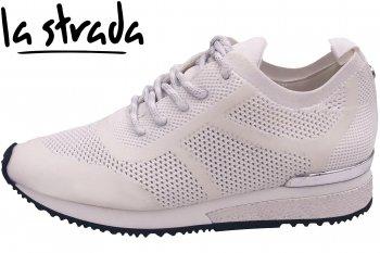 La Strada Damen Sneaker Weiß