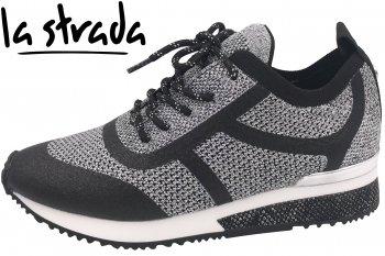 La Strada Damen Sneaker Silber