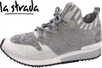 La Strada Damen Sneaker Hellgrau