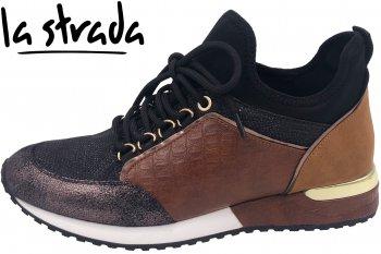 La Strada Damen Sneaker Bronze