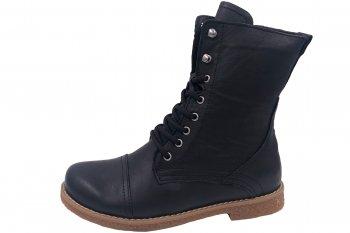Andrea Conti Boots Schwarz