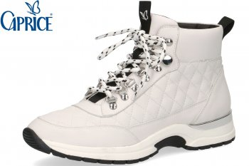 Caprice Damen Sneaker High Top Weiß