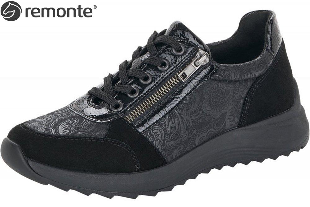 Remonte Damen Sneaker Schwarz