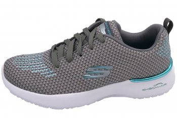 Skechers Damen Skech Air Dynamite Grau