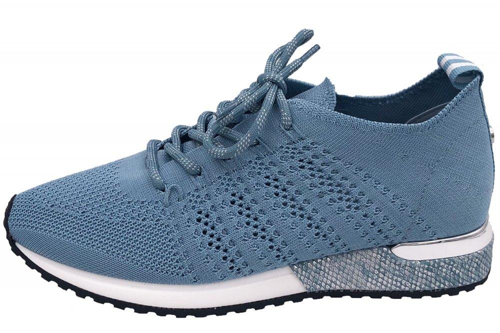 La Strada Damen Sneaker Hellblau