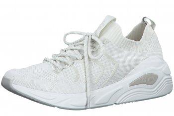 s.Oliver Damen Sneaker Weiß
