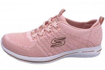 Skechers Damen Sneaker City Pro Rosa