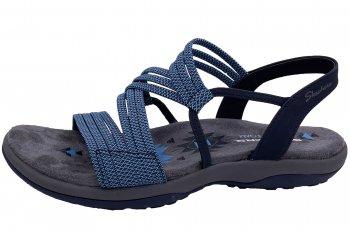 Skechers Damen Sandale Reggae Slim Blau