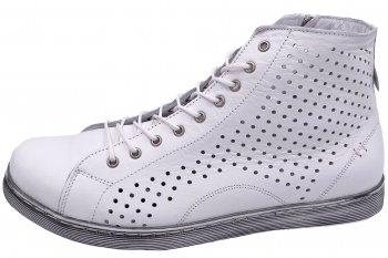 Andrea Conti High Top Sneaker Weiß