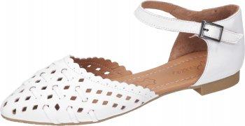 Piazza Damen Slipper Sandale Weiß