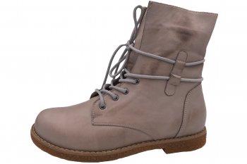 Andrea Conti Boots Hellgrau