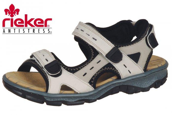 dd1a14a4125207 Damen Trekking Sandalen Rieker Clara Beige 68872 Sommer NEU