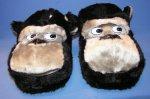 Hausschuhe Plüsch Affe