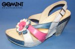 Gemini Sandale Blau-Weiß