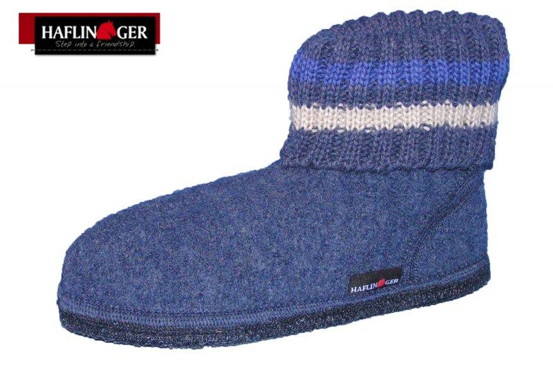 Haflinger Hausschuhe Paul Jeans