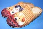 Damen Pantoffel Hund