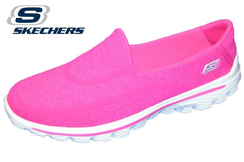 Skechers Go Walk 2 Pink