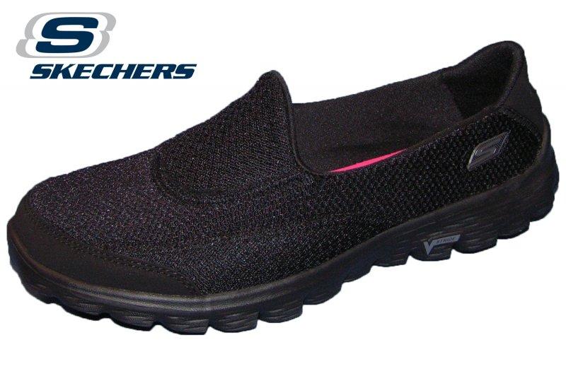 Skechers Go Walk 2 Schwarz