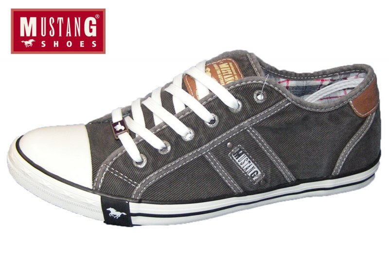 Mustang Herren Sneaker Grau
