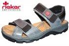 Rieker Trekking Sandale Blau