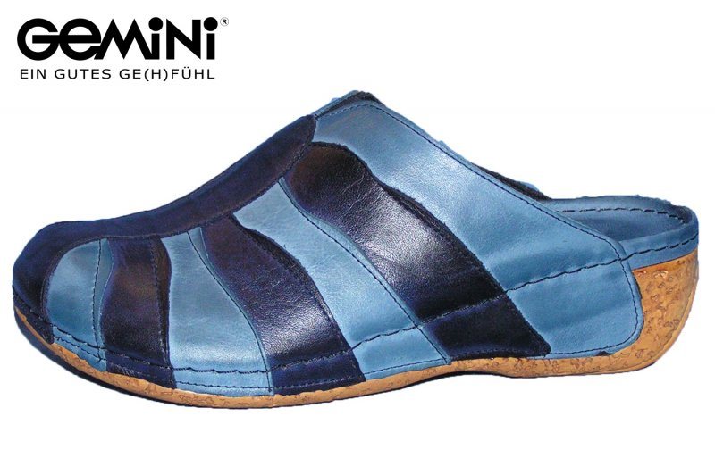 Gemini Pantolette Blau