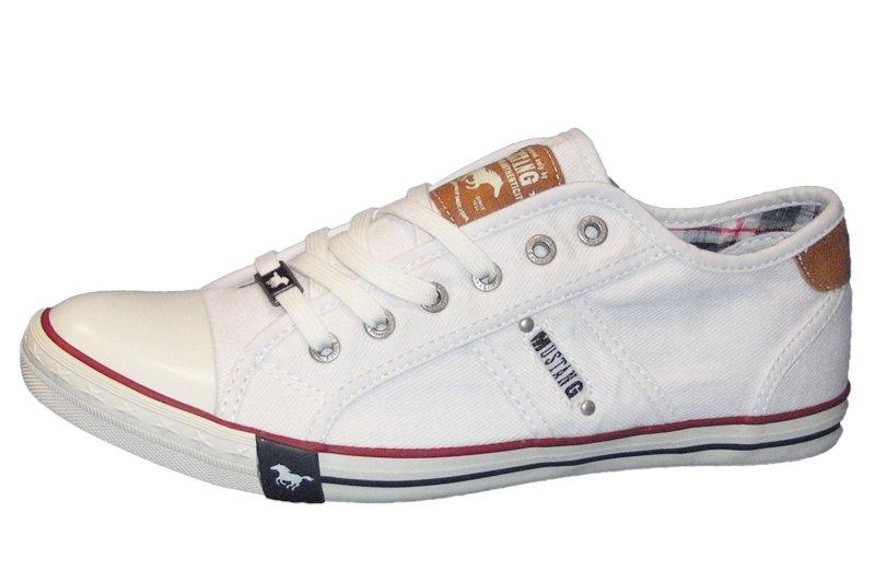 Mustang Herren Sneaker Weiß