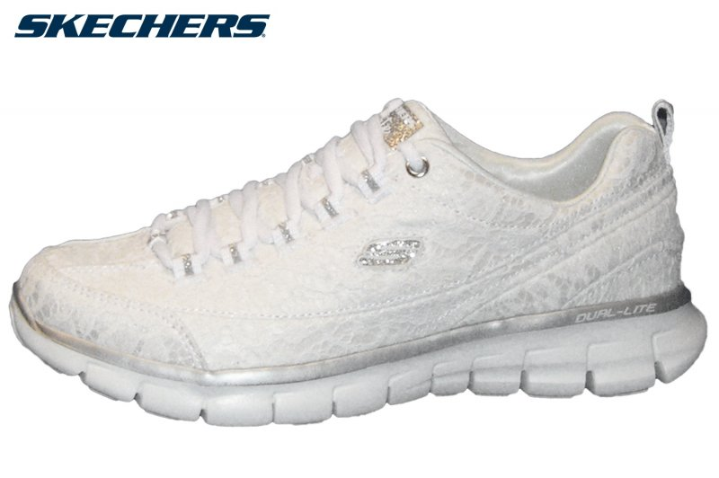 Skechers Damen Sneaker. Modell: Synergy Silky Sweet