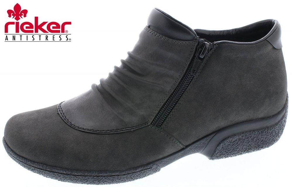 Rieker Damen Boots Anthrazit