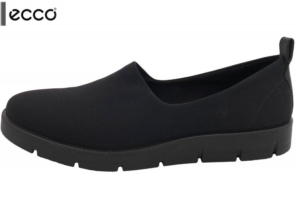 reputable site dd4c2 da4d5 Details zu ECCO Bella Damen Slipper Schwarz Stretch flexibel Schuhe NEU  28207351707