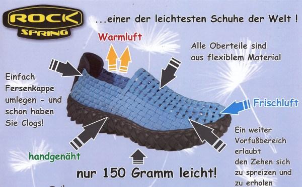 Details zu Rock Spring Schwarz Damen Schuhe geflochten Over Weiche Memory Decksohle 32063